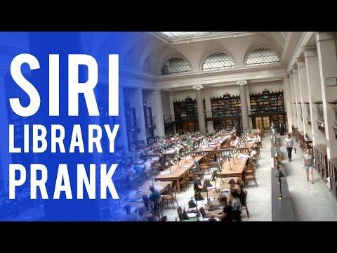 SIRI LIBRARY PRANKKaynak: YouTube · Süre: 3 dakika24 saniye