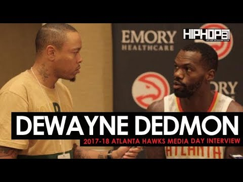 Dewayne Dedmon Talks 2017-18 Season, New Apparel, Mentoring John Collins & More (Media Day HHS1987)