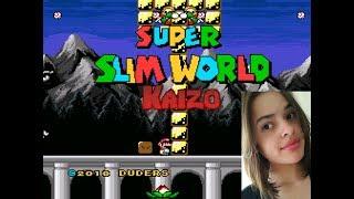 SMW Slim World [Sem Save State] - ACHO QUE ESTOU VICIADA EM KAIZO! 😱