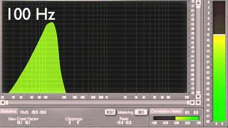 20Hz to 20kHz Frequency Sweep (Logarithmic) 1080p HD