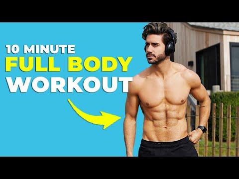 10 MIN FULL BODY WORKOUT *Bodyweight Only*   Alex Costa