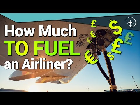 How Much Does It Cost To FUEL An Airliner?!