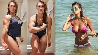 Фитоняшки, которые наваляют любому - Мотивация на фитнес бикини!