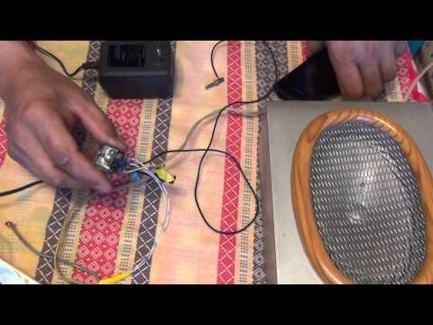 видео: Простой усилитель звука своими руками 1 часть