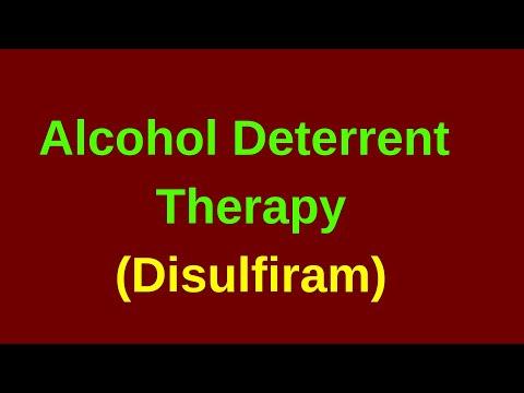 ALCOHOL DETERRENT THERAPY (ANTABUSE /DISULFIRAM)