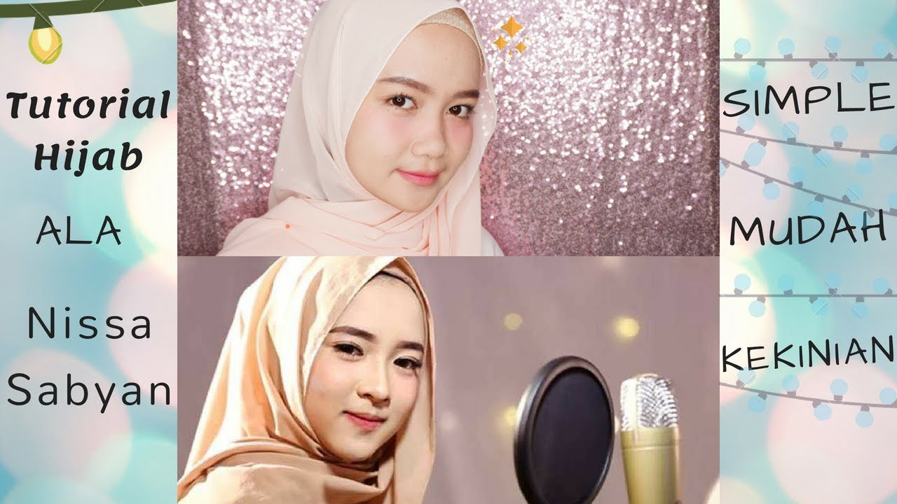tutorial hijab ala nissa sabyan gambus || tutorial hijab pashmina