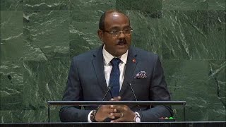 🇦🇬 Antigua and Barbuda - Prime Minister Addresses General Debate, 74th Session