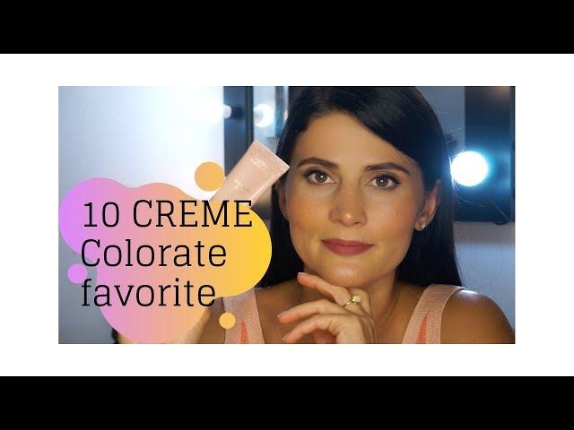 Top 10 creme de fata hidratante si colorate