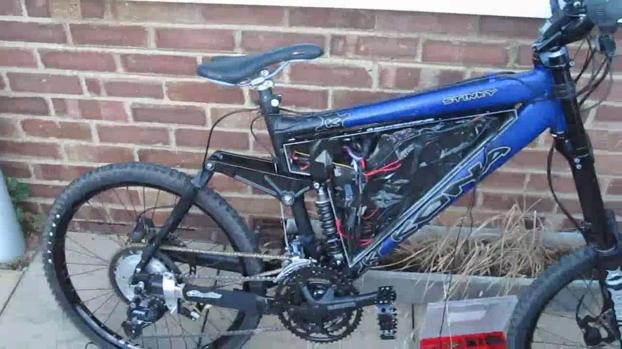 Kona Stinky Mental Electric Bike Hv160 Test Youtube