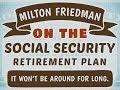 Milton Friedman - Exposes the Pyramid Scheme of Social Security