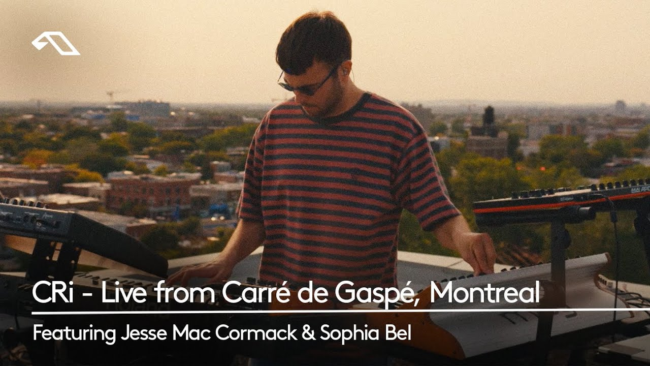 CRi - Live from Carré de Gaspé, Montréal