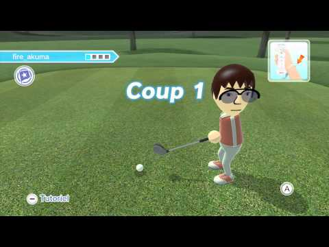 Liveplay - Wii U eShop - Wii Sport Club - Golf