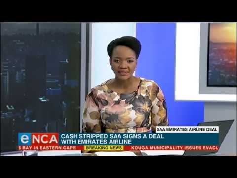 SAA Emirates airline deal