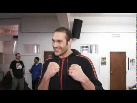 Tyson Fury Exclusive Interview , About  Cunningham and  More. By Way Productions