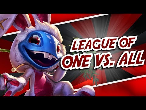 League Of One Vs. All | League Of Legends Montage