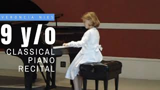 2011 Recital I Veronica I Classical Piano