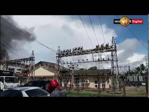 Warehouse fire in Ratmalana (12/05/2018)
