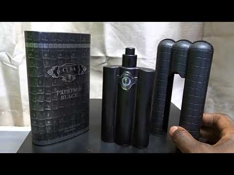 ✅  How To Use Cuba Prestige Black Eau de Toilette Spray for Men Review