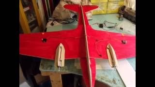 Rc 4ch Foamie Airplane Dc-3 / C-47 Build And Maiden Flight