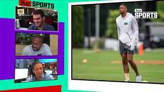 Terrelle Pryor Punked Badly By Ex-Teammate At Redskins-Jets Joint Practice | TMZ Sports