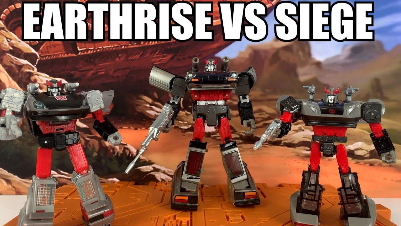 Transformers War for Cybertron Bluestreak Comparison Earthrise vs Siege By Enewtabie