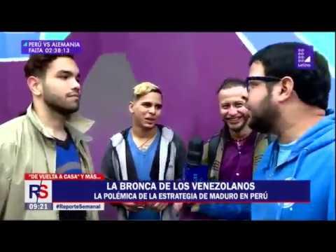 #ReporteSemanal La 'pelea' de los venezolanos