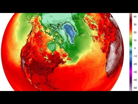 Global heatwave: Heat maps reveal record breaking temperatur