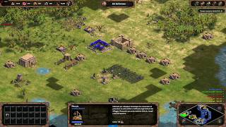 Age of Empires: Definitive Edition - 3v3 RM Gameplay Small Islands Sumerians - eartahhj - 01/03/2018