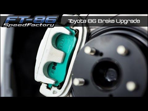 Toyota 86 Brake Upgrade Install