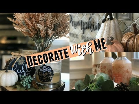 2019 Fall Clean & Decorate With Me| Fall Kitchen Decorating | Fall Farmhouse Decor