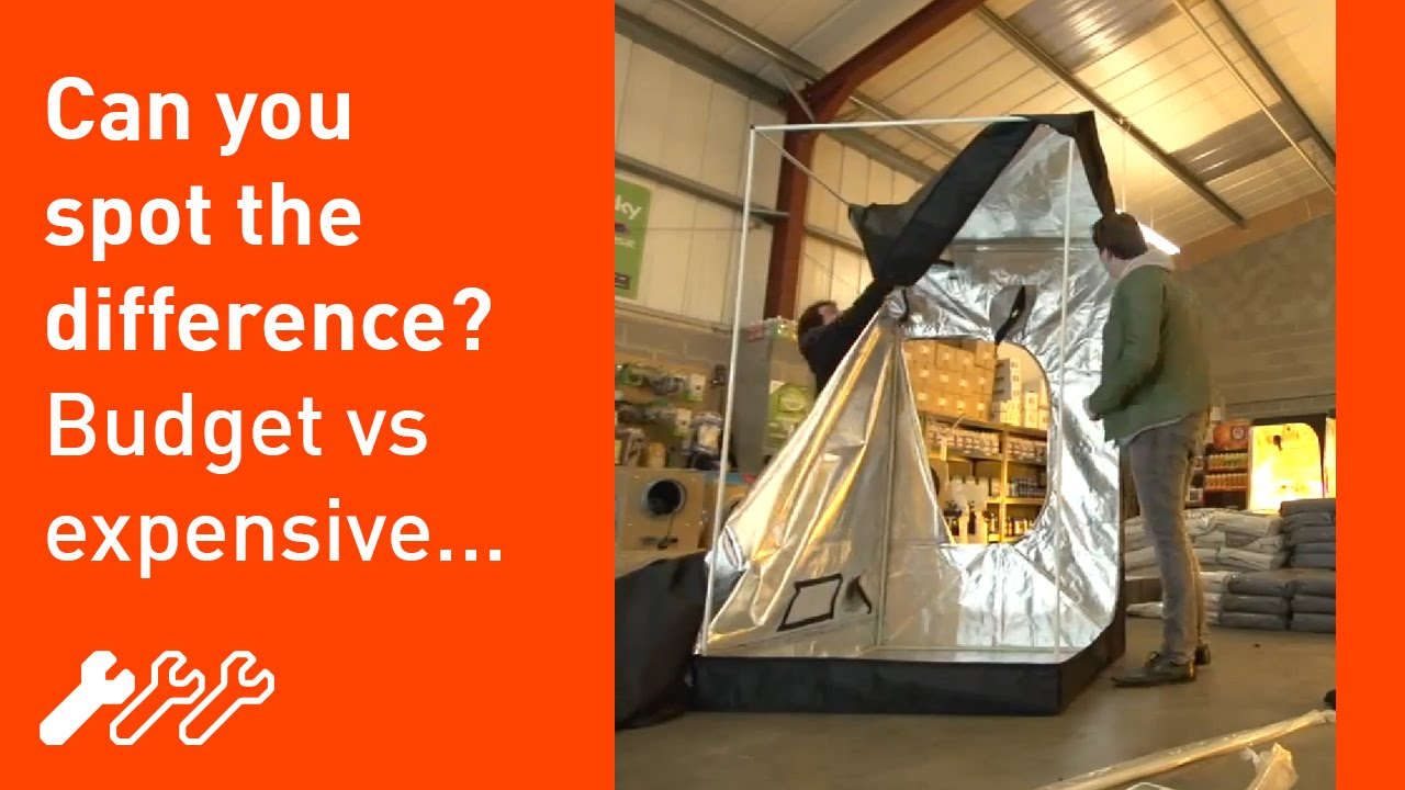 #24 - Hydroponic Grow Tents the difference between a budget and premium tent & 24 - Hydroponic Grow Tents the difference between a budget and ...