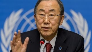 بان كي مون : تحضيرات دولية لعقد مؤتمر جنيف 3 لحل الأزمة السورية - أخبار الآن