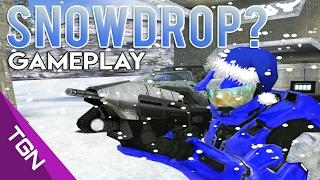 HALO CE | SNOWDROP? Gameplay C/ Crounter , Teddy XD , Lichox y El Noob