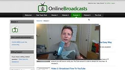 Online Broadcasts For Spreading Your Message To The World