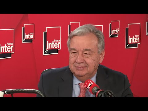 Antonio Guterres, invité du grand entretien