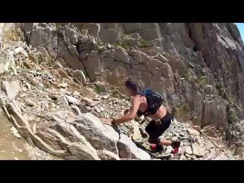Mountain running, giro e punta di Rocca la Meja #salomon sense ultra#dynafit pantera