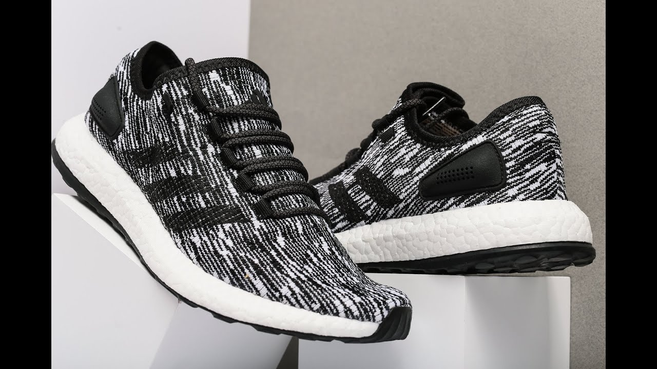 1a257e03c Unboxing Review sneakers Adidas PureBoost BB6280 - YouTube