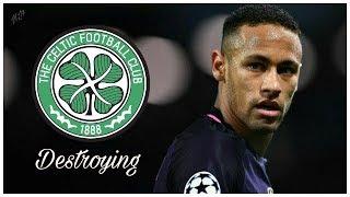 Neymar jr ▶ destroying celtic • great performance • hd