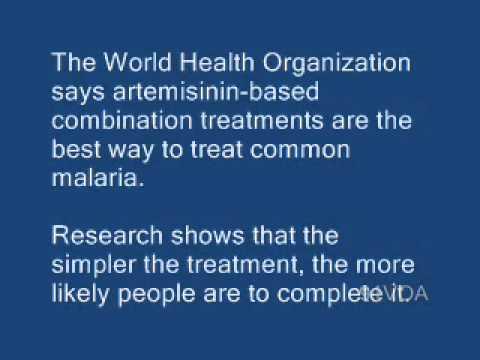[91VOA]New Malaria Drug Launched in Latin America_ Southeast Asia
