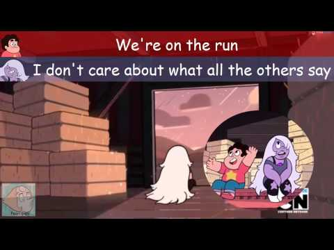 "Steven Universe - ""On the run song"" LYRICS"
