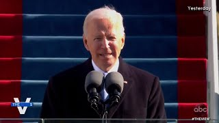 "Joe Biden Calls for End to ""Uncivil War"" 