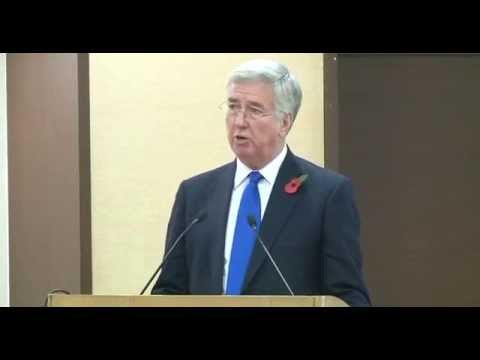 Talk by UK's Secretary of State for Defence, Rt. Hon. Michael Fallon MP