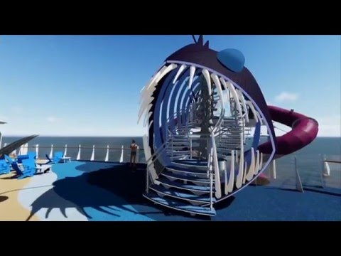 Engineering the Tallest Slide at Sea