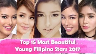 Video Top 15 Most Beautiful Young Filipina Stars 2017  | PH Fever Official download MP3, 3GP, MP4, WEBM, AVI, FLV Agustus 2018