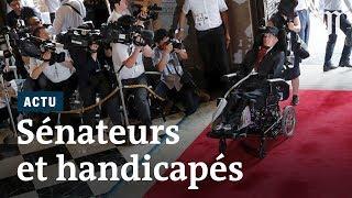 Japon : l'élection symbolique de deux sénateurs handicapés