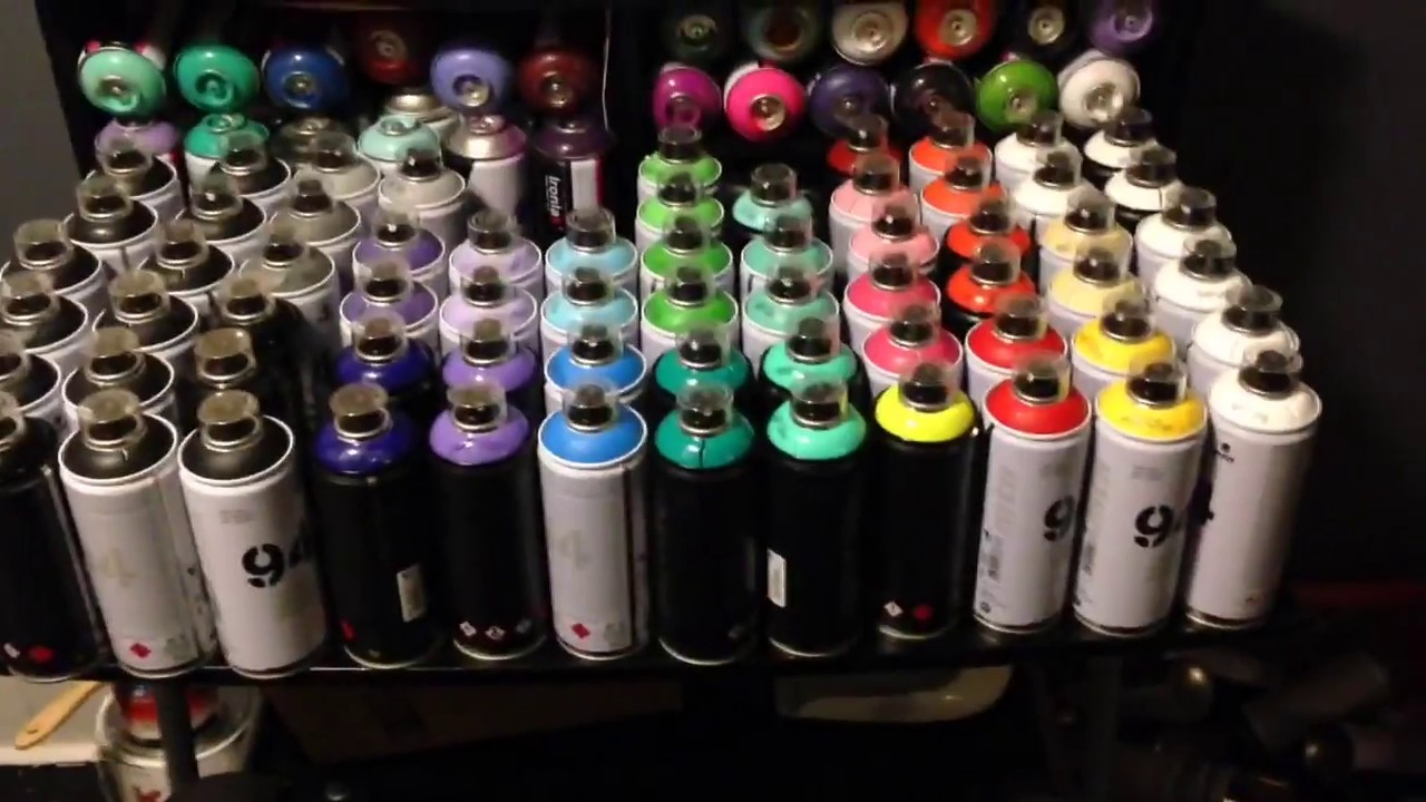 Cool Graffiti Spray Cans
