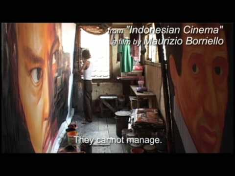 Indonesian Cinema - The art of movie advertising