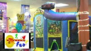 Extreme fun indoor bounce house San Antonio Texas