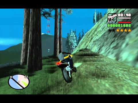 How to collect all 50 Oysters at the very beginning of the game - GTA San Andreas Part 1 (of 2)