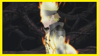 Naruto Transforms Into Nine Tails Chakra Mode For First Time (AMV)